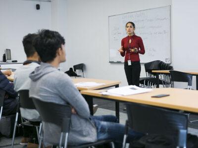 Juliana hosting workshop